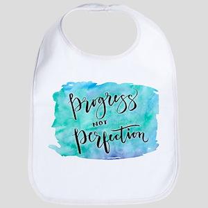 Progress not Perfection Bib