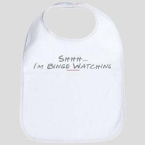 Shhh... I'm Binge Watching Gilmore Girls Baby Bib