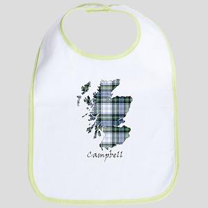 Map-Campbell dress Bib