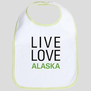 Live Love Alaska Bib