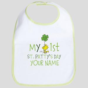 Peanuts - My 1st St. Patty's Bib
