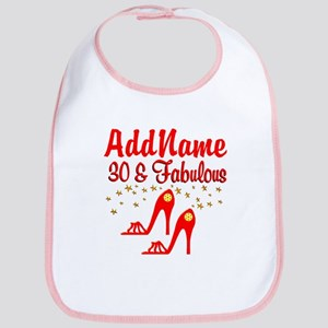 30TH STILETTO Bib
