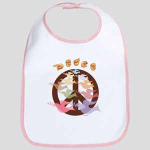 """Sign Peace"" Bib"
