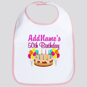 AWESOME 50TH Bib