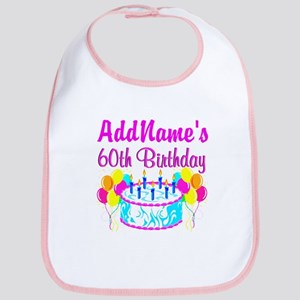 AWESOME 60TH Bib