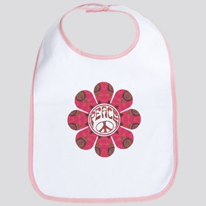 Peace Flower - Affection Bib