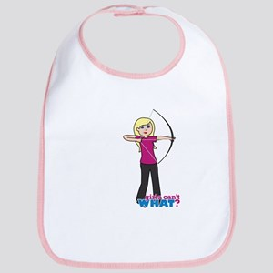 Archery Girl Light/Blonde Bib