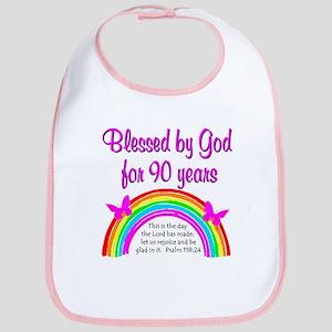 PRECIOUS 90TH Bib