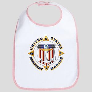 Emblem - US Merchant Marine Bib