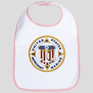 Emblem - US Merchant Marine - USMM Bib