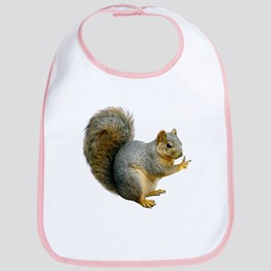 Peace Squirrel Bib
