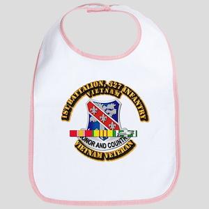 Army - 1st Battalion, 327 Infantry w SVC Ribbons B