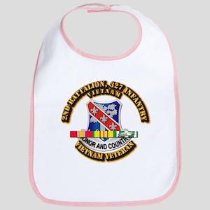 Army - 2nd Battalion, 327 Infantry w SVC Ribbons B