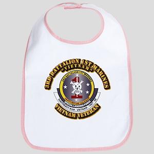 SSI - 3rd Battalion - 1st Marines USMC VN Bib