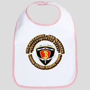 SSI - 1st Battalion - 3rd Marines With Text USMC B