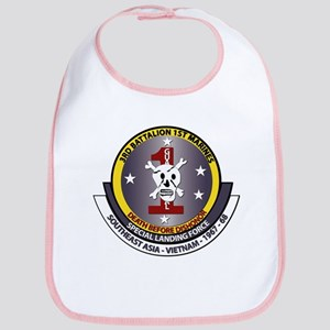 SSI - 3rd Battalion - 1st Marines USMC Bib