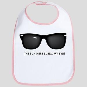The Sun Here Burns my Eyes Bib