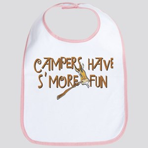 Campers Have S'More Fun! Bib