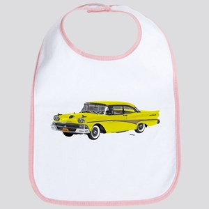 1958 Ford Fairlane 500 Yellow Bib