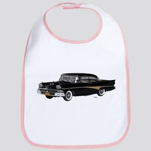 1958 Ford Fairlane 500 Black Bib