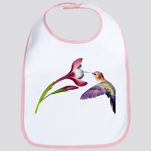 Hummingbird in flight Bib