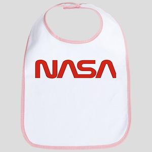 NASA Worm Logo Bib