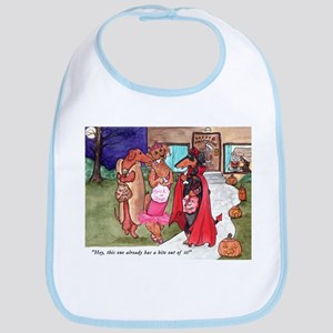 Trick or Treat Doxies Bib