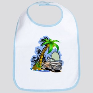 Tropical Scene Bib