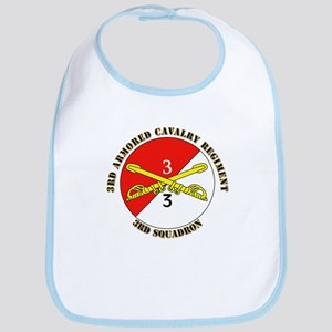 Cavalry - 3rd Squadron - 3rd ACR with Text Bib