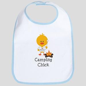 Camping Chick Bib