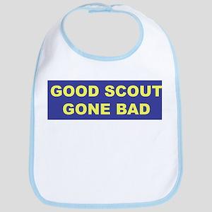 Good Scout Gone Bad (Blue) Bib