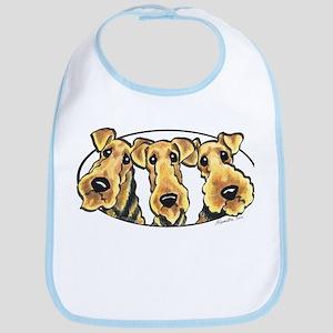 Airedale Terrier Lover Bib