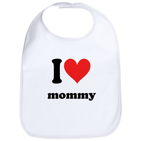 I Heart Mommy Bib