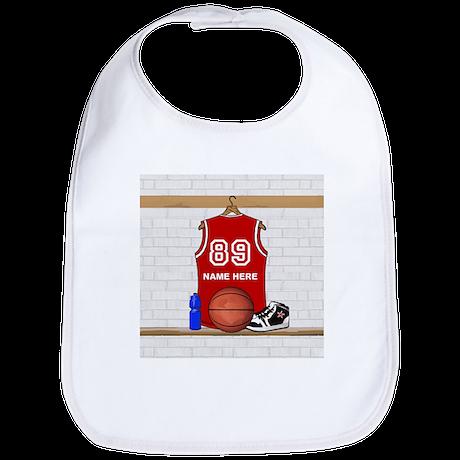 Personalized Basketball Jerse Bib
