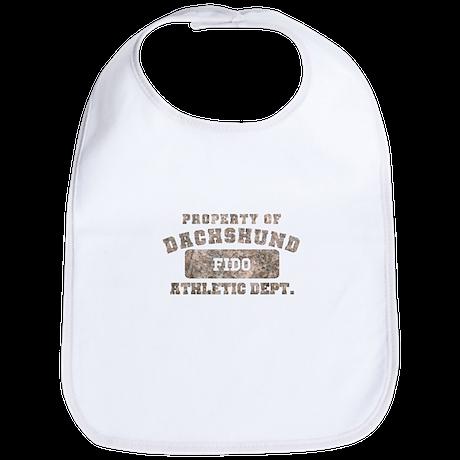 Personalized Dachshund Bib