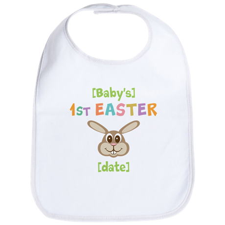 PERSONALIZE 1st Easter Bunny Bib