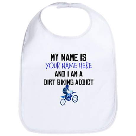 Custom Dirt Biking Addict Bib