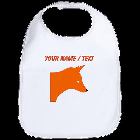 Custom Orange Fox Bib