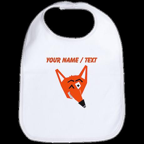 Custom Winking Fox Bib