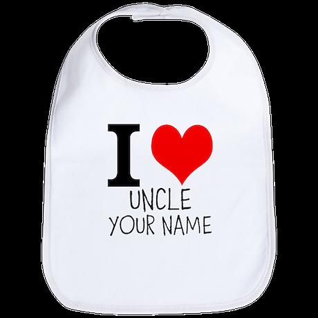 I Heart My Uncle Bib