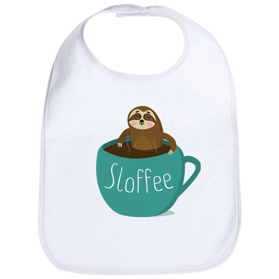 Sloffee - Funny Sloth Coffee Pun Joke