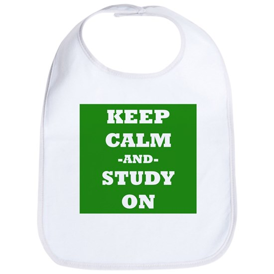 Keep Calm And Study On (Green)