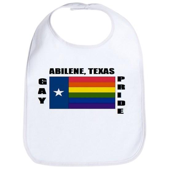 Abilene, Texas Cotton Baby Bib Abilene, Texas Bib By
