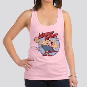 Mighty Mouse: Hero Pose Racerback Tank Top