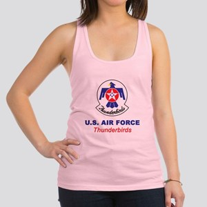 United States Air Force Thunder Racerback Tank Top