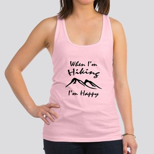 Hiking (Black) Racerback Tank Top