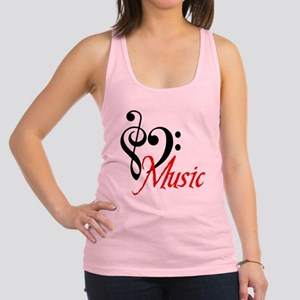 2-music Racerback Tank Top