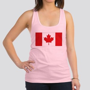 Canada National Flag Racerback Tank Top