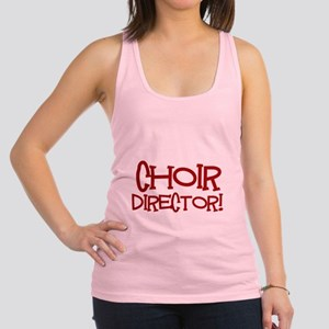 You Cant Scare Me...Choir... Racerback Tank Top