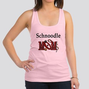 schnoodle mom darks Racerback Tank Top